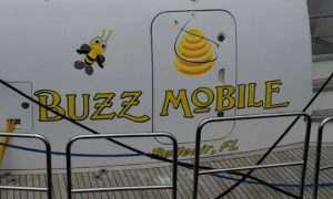 The Completed Buzz Mobile Boat Name