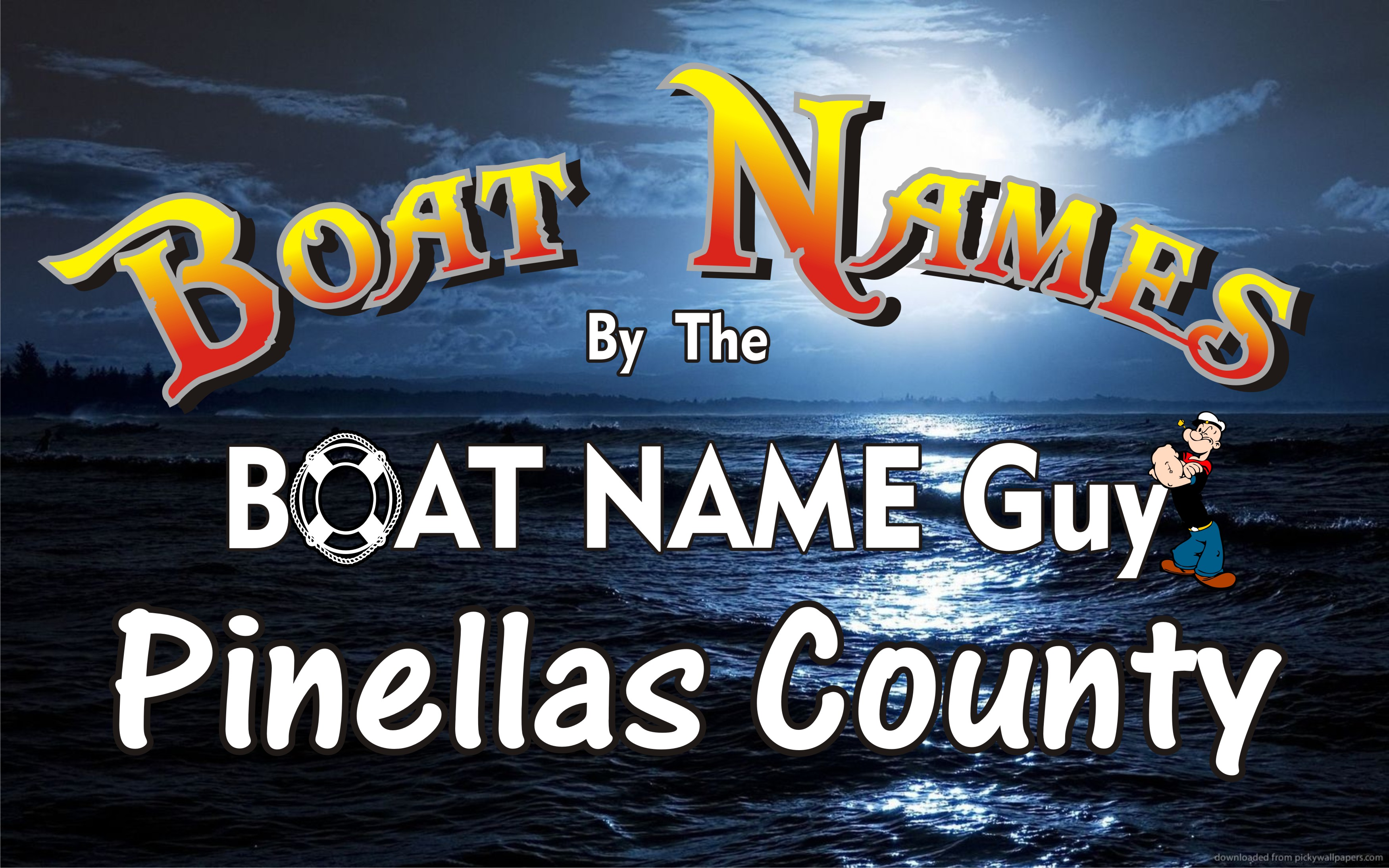 Boat Names in St  Petersburg Clearwater Tampa Pinellas Florida