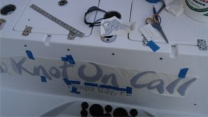 Knot On Call Boat Name Design Install Tampa Clearwater