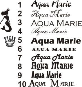 Aqua-marie