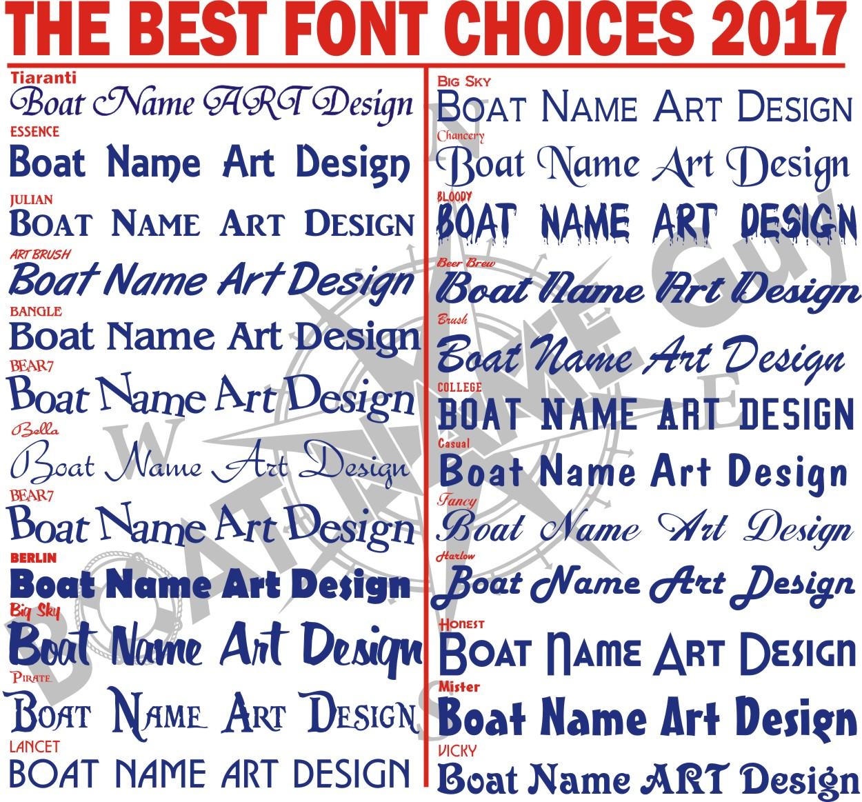 most popular boat lettering fonts pictures to pin on With popular boat lettering fonts