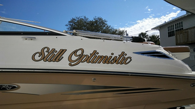 Still-Optimistic Boat Name