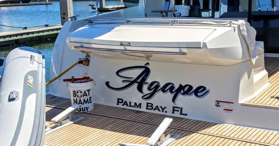 Agape Boat Name