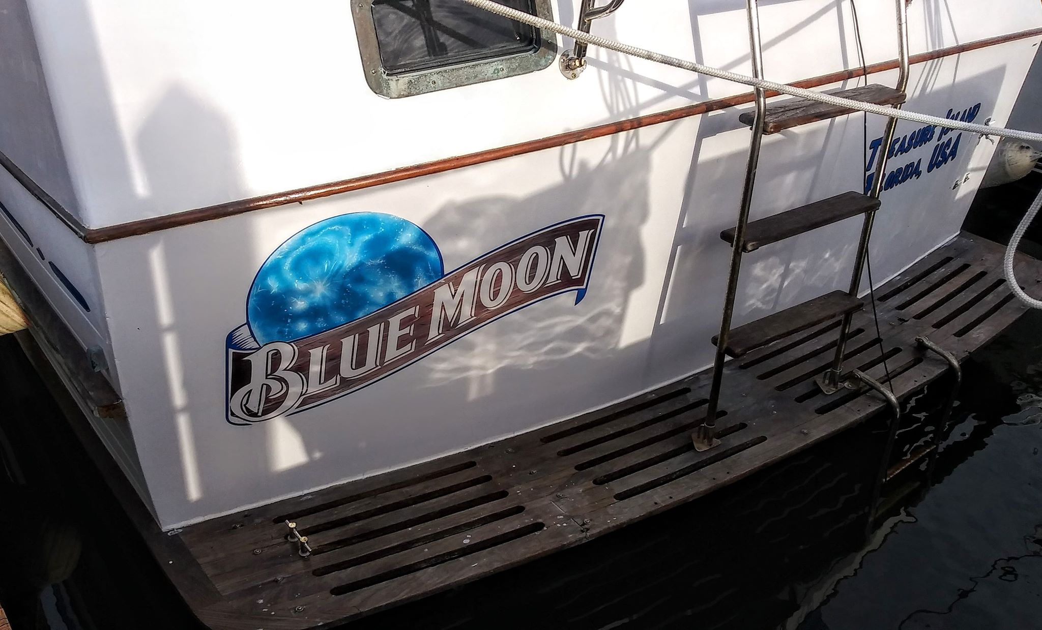 Blue Moon Boat Name
