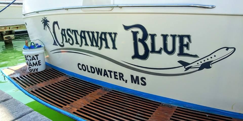 Castaway Blue Boat Name