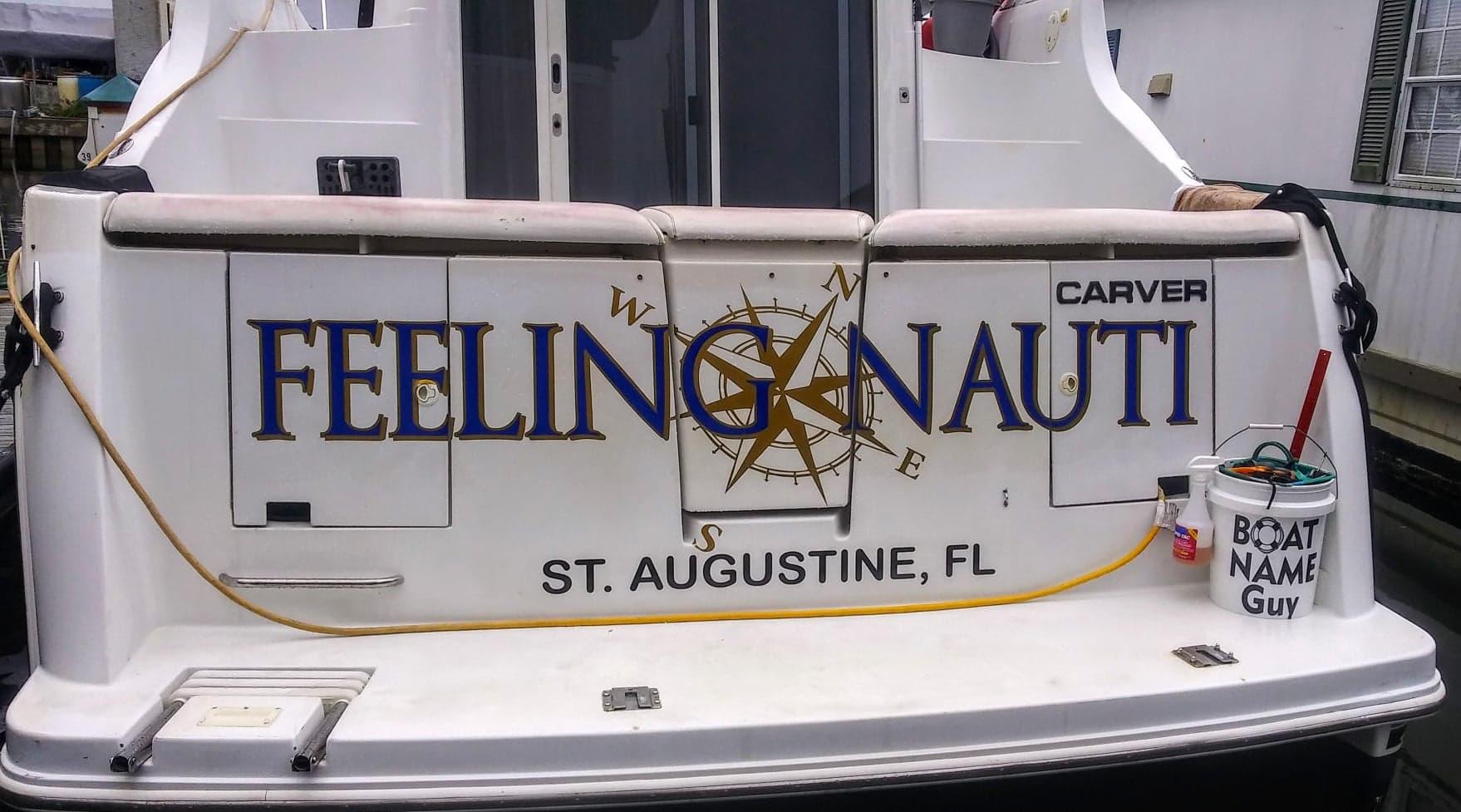 Feeling Nauti Boat Name