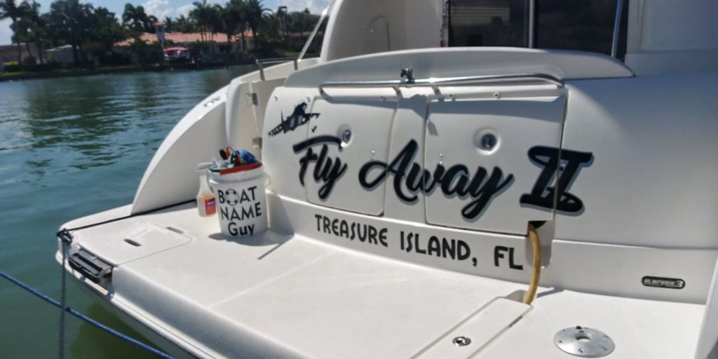 Fly Away Boat Name