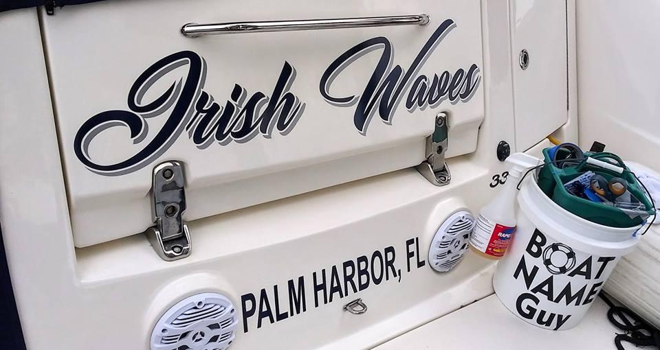 Irish-Waves Boat Name