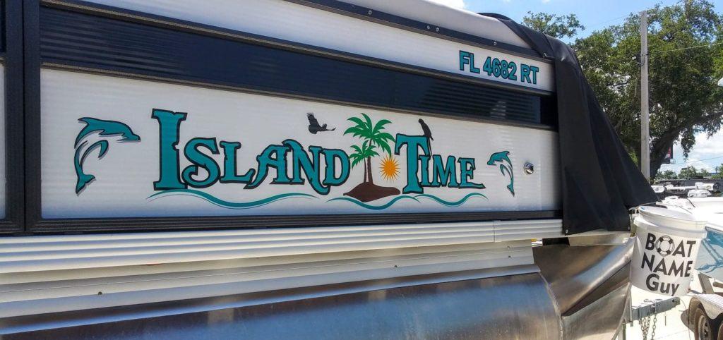 Island Time Boat Name