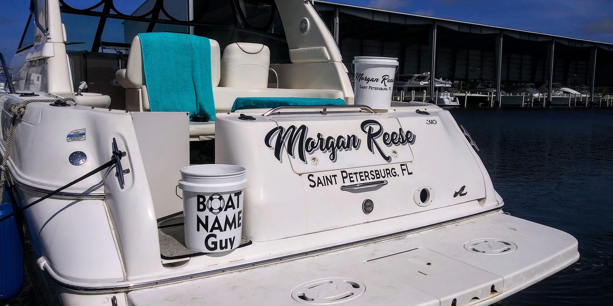 Morgan Reese Boat Name