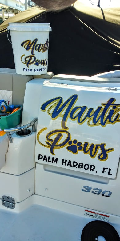 Nauti Paws Boat Name