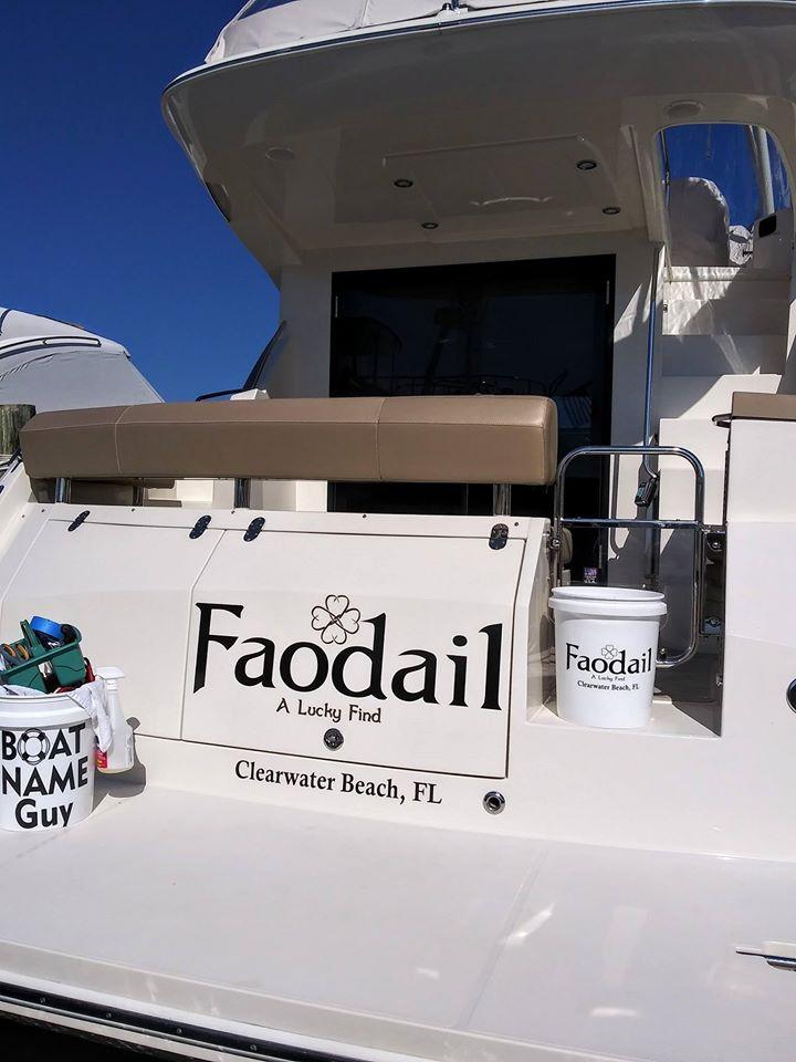 Faodial Boat Name