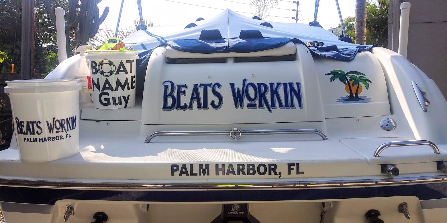 Beats Workin Boat Name