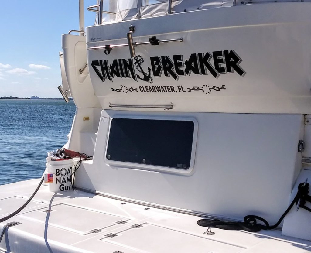 Chain Breaker Boat Name