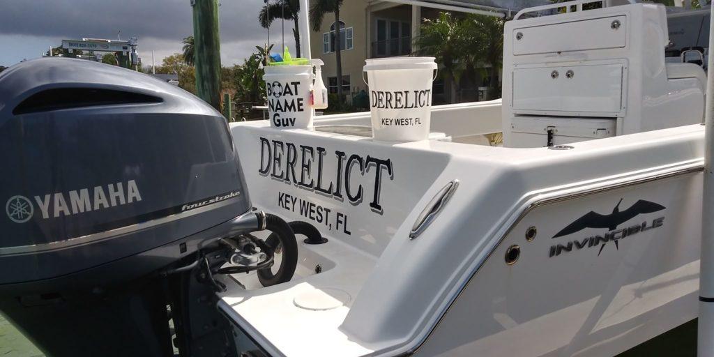 Derelict Boat Name