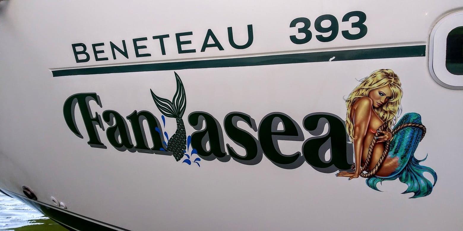 Fantasea Boat Name