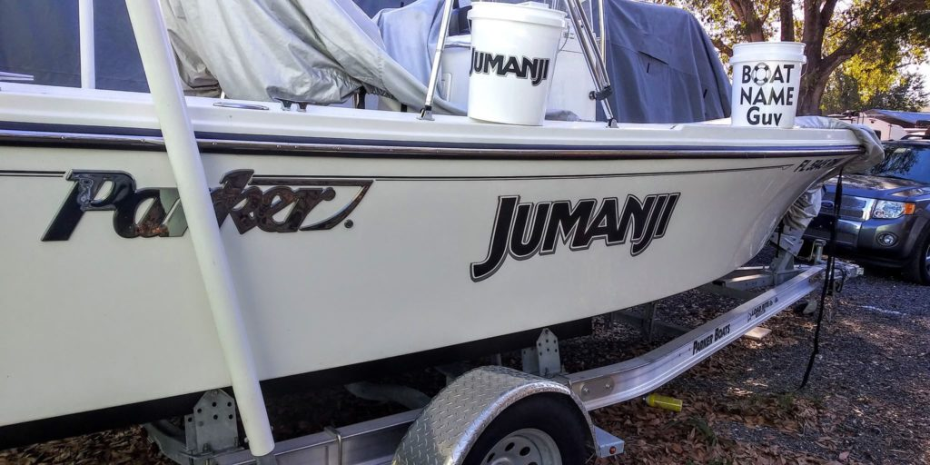 Jumanji Boat Name