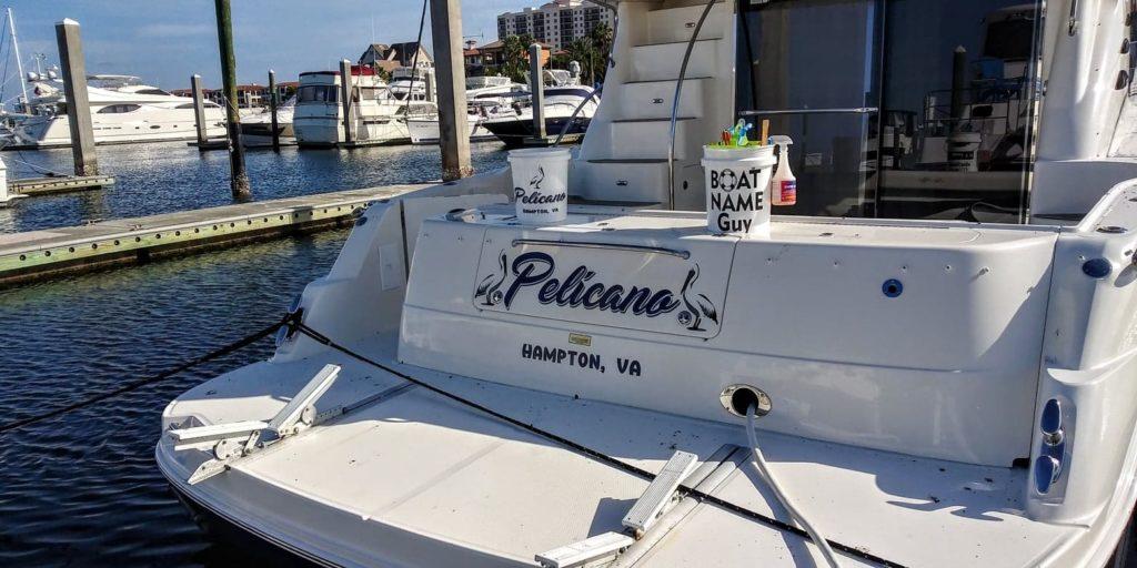 Pelicano Boat Name
