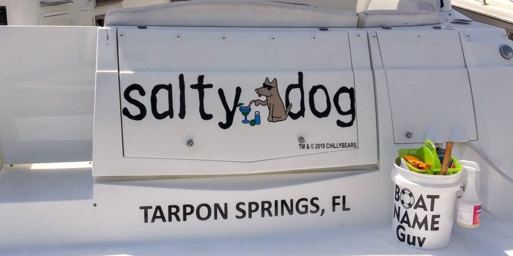 Salty Dog Boat Name
