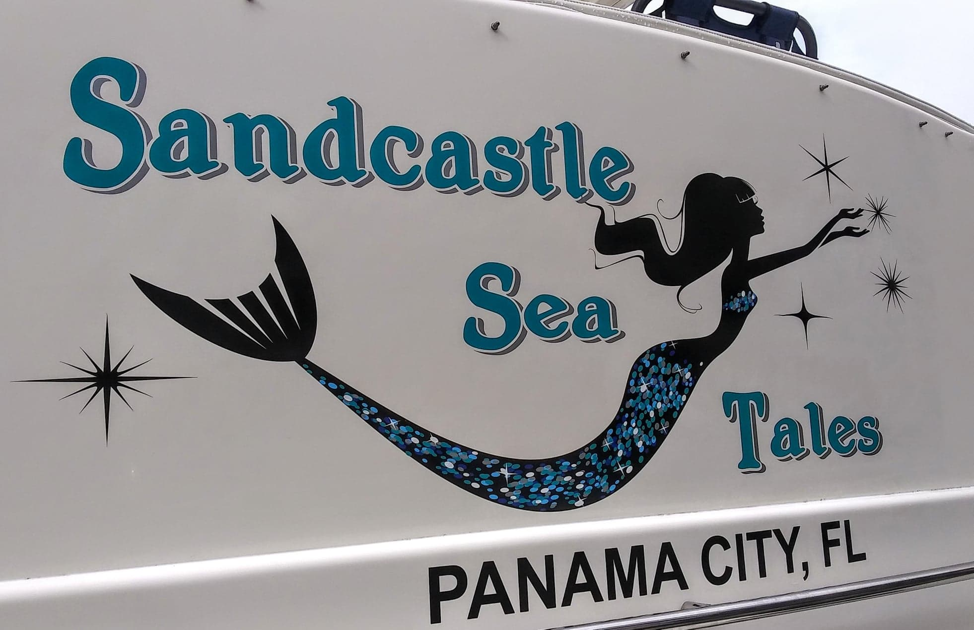 Sandcastle Sea Tales Boat Name
